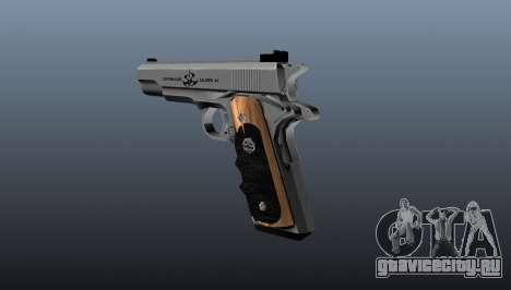 Полуавтоматический пистолет AMT Hardballer для GTA 4 второй скриншот