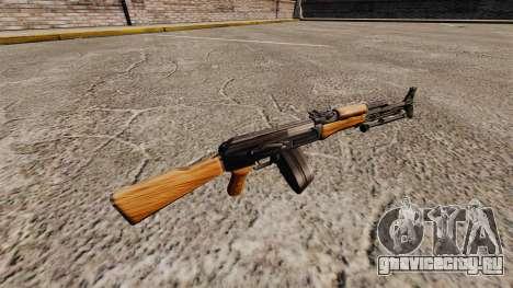 Автомат AK-47 v3 для GTA 4 второй скриншот