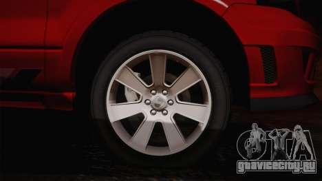 Saleen S331 Supercab 2008 для GTA San Andreas вид слева
