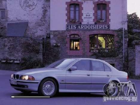 Новые загрузочные экраны BMW для GTA San Andreas третий скриншот