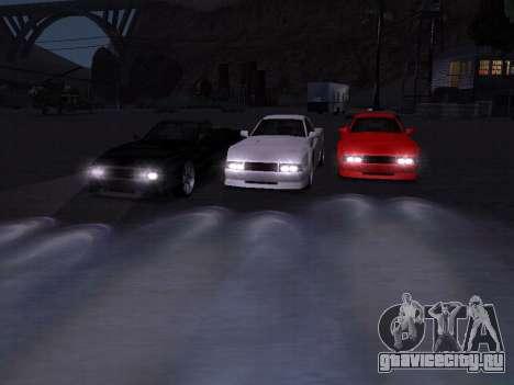 Сheetah Restyle для GTA San Andreas двигатель