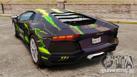 Lamborghini Aventador LP700-4 2012 [EPM] для GTA 4 вид слева