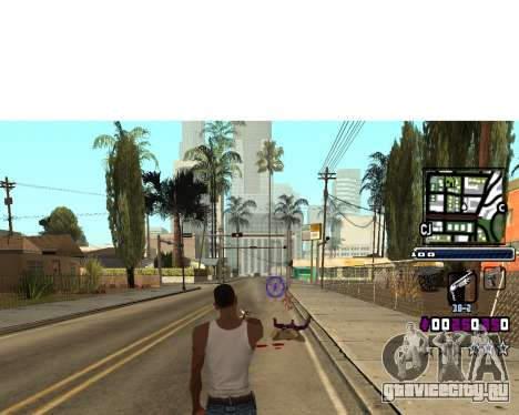 C-HUD by Gabbi_Stafford для GTA San Andreas
