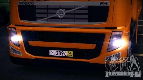 Volvo FH12 Эвакуатор для GTA San Andreas вид слева