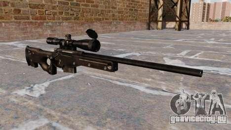 Снайперская винтовка AI AWM для GTA 4