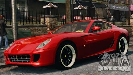 Ferrari 599 GTB Hamann 2006 для GTA 4
