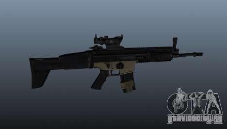 Автомат FN SCAR-L для GTA 4 третий скриншот