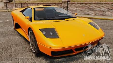 GTA V Infernus Pegassi для GTA 4