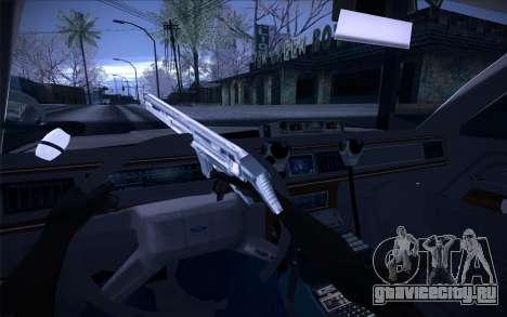 Police North Yankton для GTA San Andreas вид изнутри