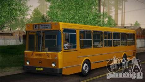 ЛиАЗ 5256.00 Скин-пак 6 для GTA San Andreas вид справа