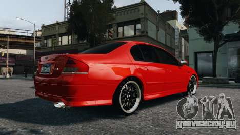 Ford Falcon XR8 для GTA 4 вид слева