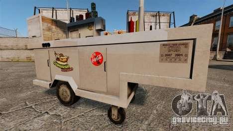 Новые текстуры хот-дог тележек для GTA 4 четвёртый скриншот