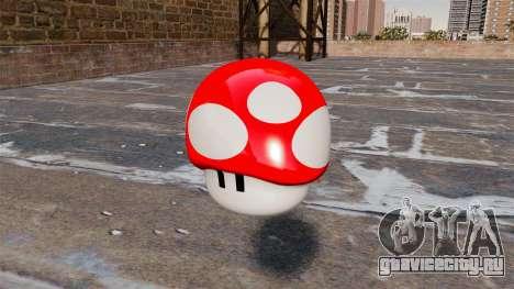 Граната гриб Марио для GTA 4