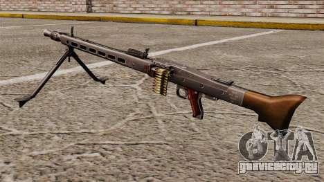 Единый пулемёт MG42 для GTA 4 второй скриншот