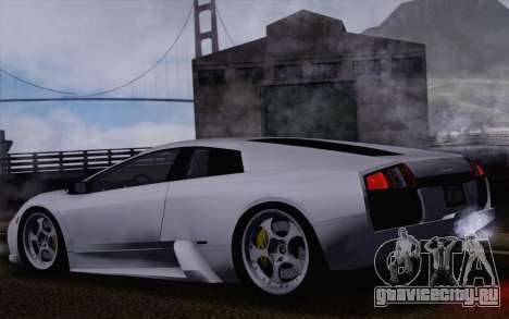 Lamborghini Murciélago 2005 для GTA San Andreas колёса