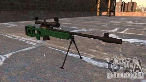 Снайперская винтовка СВ-98 для GTA 4