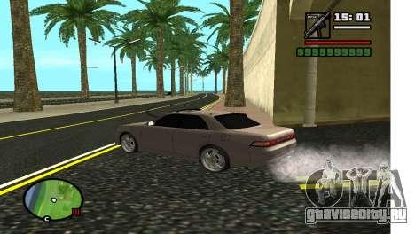 Аллея в LA для GTA San Andreas второй скриншот
