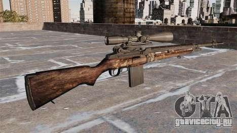 Снайперская винтовка M21 для GTA 4 второй скриншот