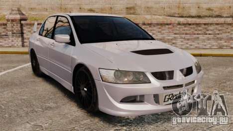 Mitsubitsi Lancer MR Evolution VIII 2004 Stock для GTA 4