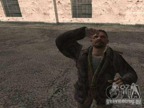 Виктор Резнов для GTA San Andreas третий скриншот