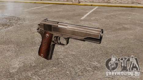 Пистолет Colt M1911 v4 для GTA 4
