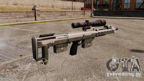 Снайперская винтовка DSR для GTA 4 второй скриншот