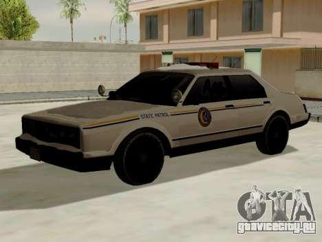 North Yankton Police Esperanto из GTA 5 для GTA San Andreas