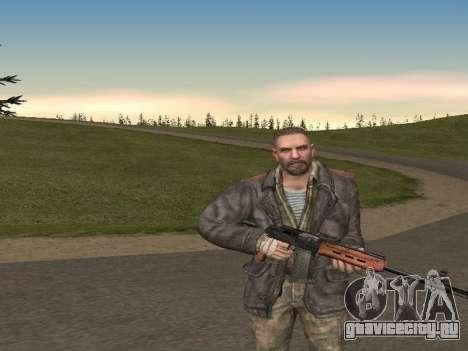 Виктор Резнов для GTA San Andreas второй скриншот
