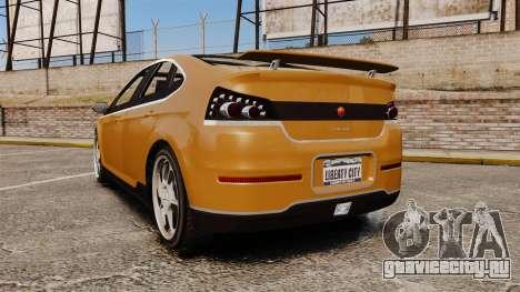 GTA V Cheval Surge для GTA 4 вид сзади слева
