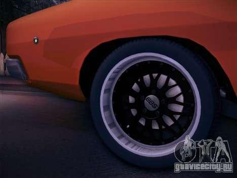 Dodge Charger RT V2 для GTA San Andreas вид справа