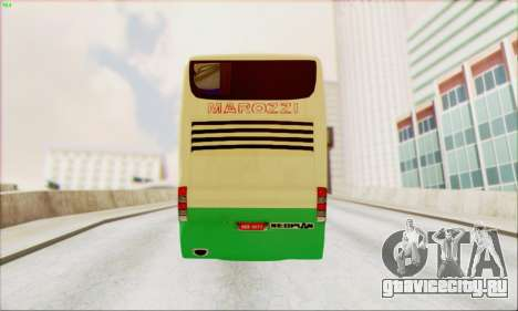 Marcopolo G6 Marozzi Autolinee для GTA San Andreas вид сзади слева