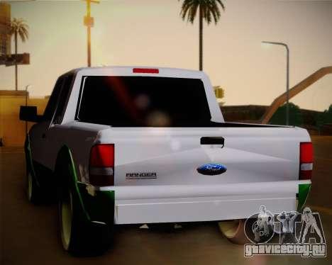 Ford Ranger 2005 для GTA San Andreas вид справа