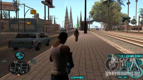 C-HUD Candy Project для GTA San Andreas второй скриншот