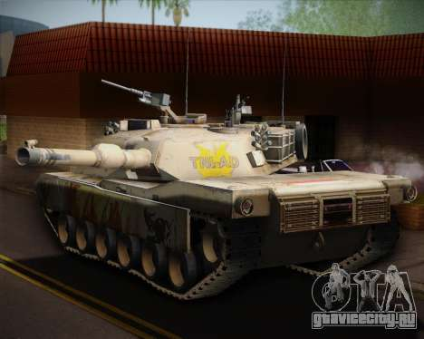 Abrams Tank Indonesia Edition для GTA San Andreas