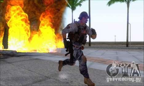 Engineer of Battlefield 4 для GTA San Andreas четвёртый скриншот