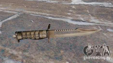 Боевой нож Alabama для GTA 4