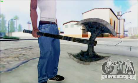 Топор Горна для GTA San Andreas второй скриншот