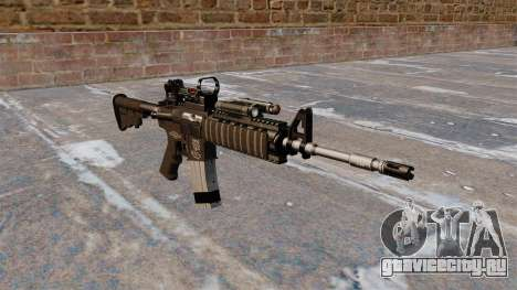Автоматический карабин M4 Red Dot Black Edition для GTA 4