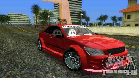 Lexus IS200 для GTA Vice City