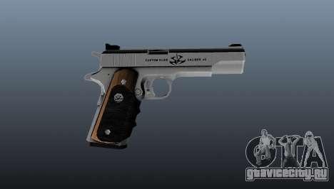 Полуавтоматический пистолет AMT Hardballer для GTA 4 третий скриншот