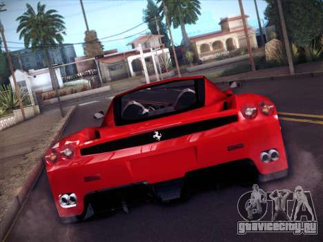 Ferrari Enzo 2003 для GTA San Andreas вид сзади