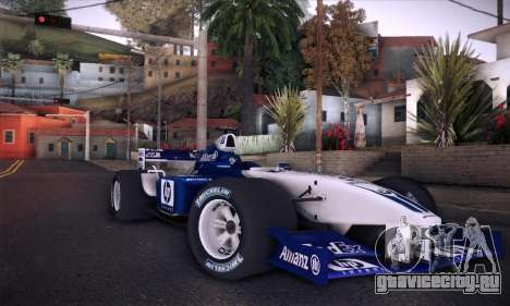 BMW Williams F1 для GTA San Andreas двигатель