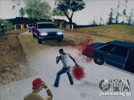 Battlefield 2142 Knife для GTA San Andreas пятый скриншот