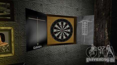 Дартс Guinness для GTA 4