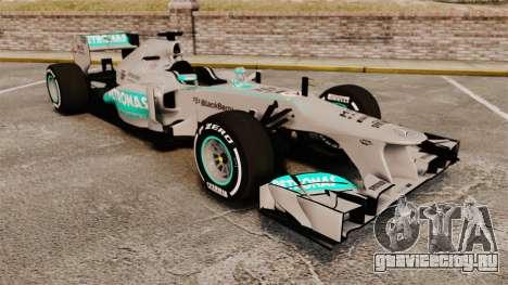 Mercedes AMG F1 W04 v5 для GTA 4