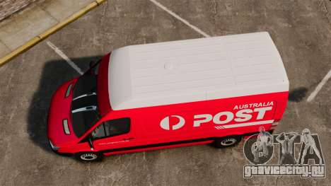 Mercedes-Benz Sprinter 2011 Australia Post для GTA 4 вид справа