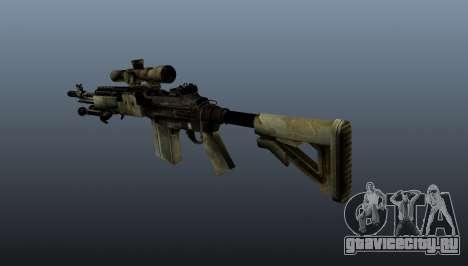 Снайперская винтовка M21 Mk14 v7 для GTA 4 второй скриншот