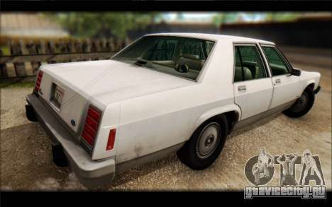 Ford LTD Crown Victoria 1987 для GTA San Andreas вид изнутри