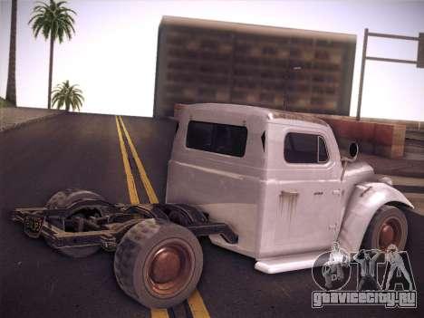 Rat Loader from GTA V для GTA San Andreas вид слева