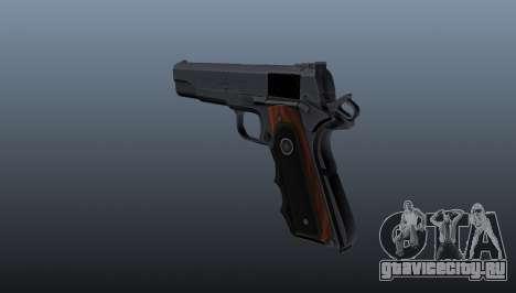 Полуавтоматический пистолет Hitman Silverballer для GTA 4 второй скриншот
